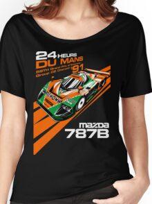 DU Mans Mazda 787B Women's Relaxed Fit T-Shirt