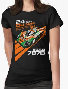 DU Mans Mazda 787B Womens Fitted T-Shirt