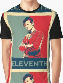 Eleventh doctor - Fairey's style Graphic T-Shirt