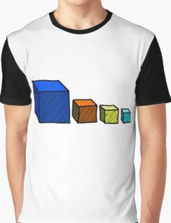 Realm of the Mad God - Cube God Cubes Graphic T-Shirt