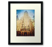 Reflective Empire (GO) Framed Print