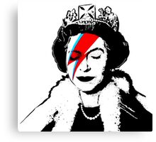 Ziggy Stardust Queen (David Bowie) Canvas Print