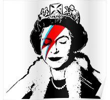 Ziggy Stardust Queen (David Bowie) Poster