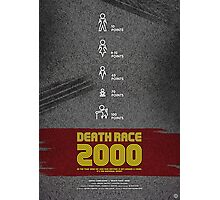 Death Race 2000 - Movie Poster Photographic Print