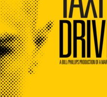 Taxi Driver - Movie Poster Sticker