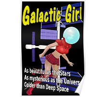 Galactic Girl Poster