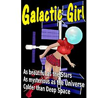 Galactic Girl Photographic Print