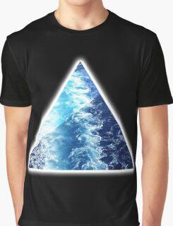 Sea  Triangle Graphic T-Shirt