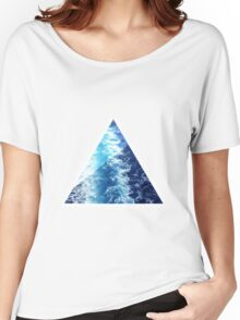 Sea  Triangle Women's Relaxed Fit T-Shirt