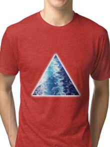 Sea  Triangle Tri-blend T-Shirt