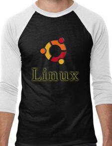 Linux Ubuntu Men's Baseball ¾ T-Shirt