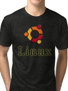 Linux Ubuntu Tri-blend T-Shirt