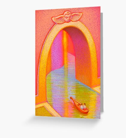 Tunnel of Love Greeting Card