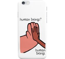 Connie & Greg - Human Beings iPhone Case/Skin