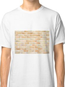 Brick wall pattern Classic T-Shirt