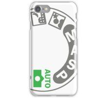 Digital SLR Camera Dial iPhone Case/Skin