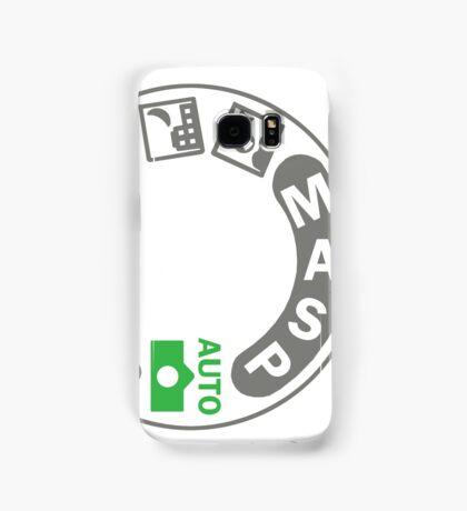 Digital SLR Camera Dial Samsung Galaxy Case/Skin