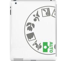 Digital SLR Camera Dial iPad Case/Skin