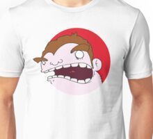 Angry Boy Unisex T-Shirt