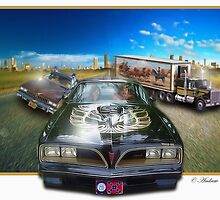 Smokey And The Bandit by Andrew Vougazianos