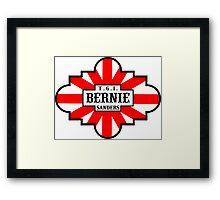 T.G.I. Bernie Sanders  Framed Print