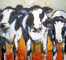 Three Cows by SaraPaxton