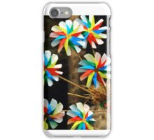 Pin wheels iPhone Case/Skin