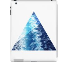 Sea  Triangle iPad Case/Skin