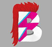 B for Bowie (Tribute for David Bowie) by manekineko58