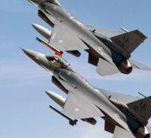 F16 -  Still the wild blue beckons Sticker