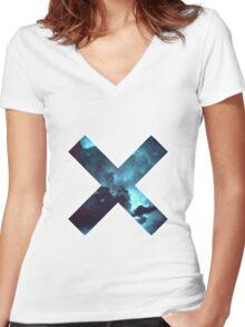 cross Women's Fitted V-Neck T-Shirt