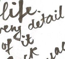 JACK KEROUAC: LIFE Sticker