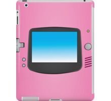 Pink Nintendo Gameboy advance illustration iPad Case/Skin