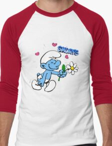 smurf Men's Baseball ¾ T-Shirt