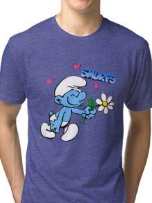smurf Tri-blend T-Shirt