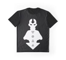 Aang white version Graphic T-Shirt