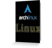 Archlinux Greeting Card