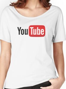 YouTube.  Women's Relaxed Fit T-Shirt