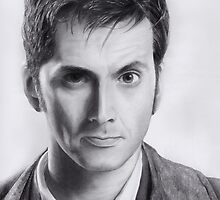 David Tennant Doctor Who No.10 by Dacdacgirl