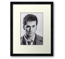 David Tennant Doctor Who No.10 Framed Print