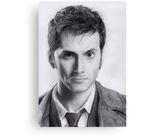 David Tennant Doctor Who No.10 Canvas Print