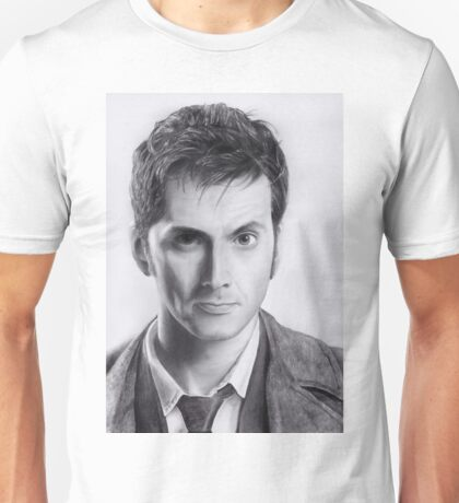 David Tennant Doctor Who No.10 Unisex T-Shirt