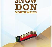 Mount Snowdon, North Wales by EllenParzer