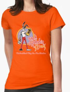 Jack Rabbit Slim's Black T Variant Womens Fitted T-Shirt