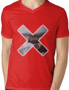 cross Mens V-Neck T-Shirt