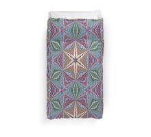 Star of Enlightenment Abstract Pattern Background Duvet Cover