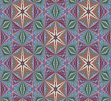 Star of Enlightenment Abstract Pattern Background by taiche