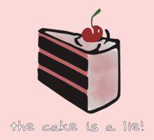 Portal, cake is a lie One Piece - Long Sleeve