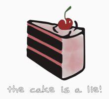 Portal, cake is a lie One Piece - Short Sleeve
