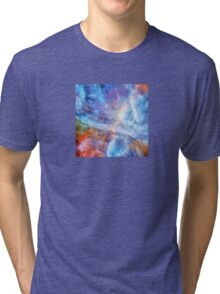 Ascending From A Dive Decorative Abstract  Art Tri-blend T-Shirt